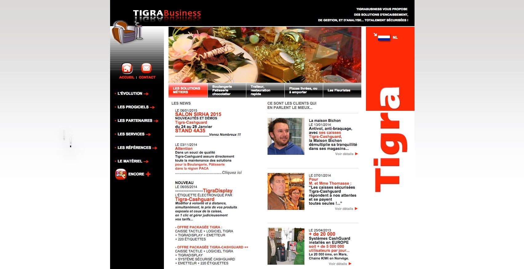 Aperçu du site tigrabusiness.fr